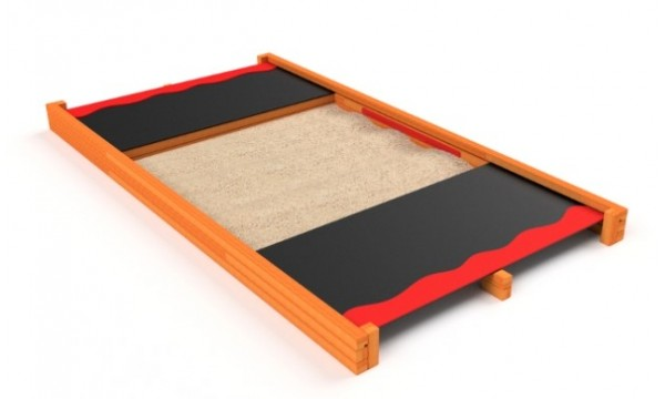 Uždengiama smėlio dėžė Astrus 3203